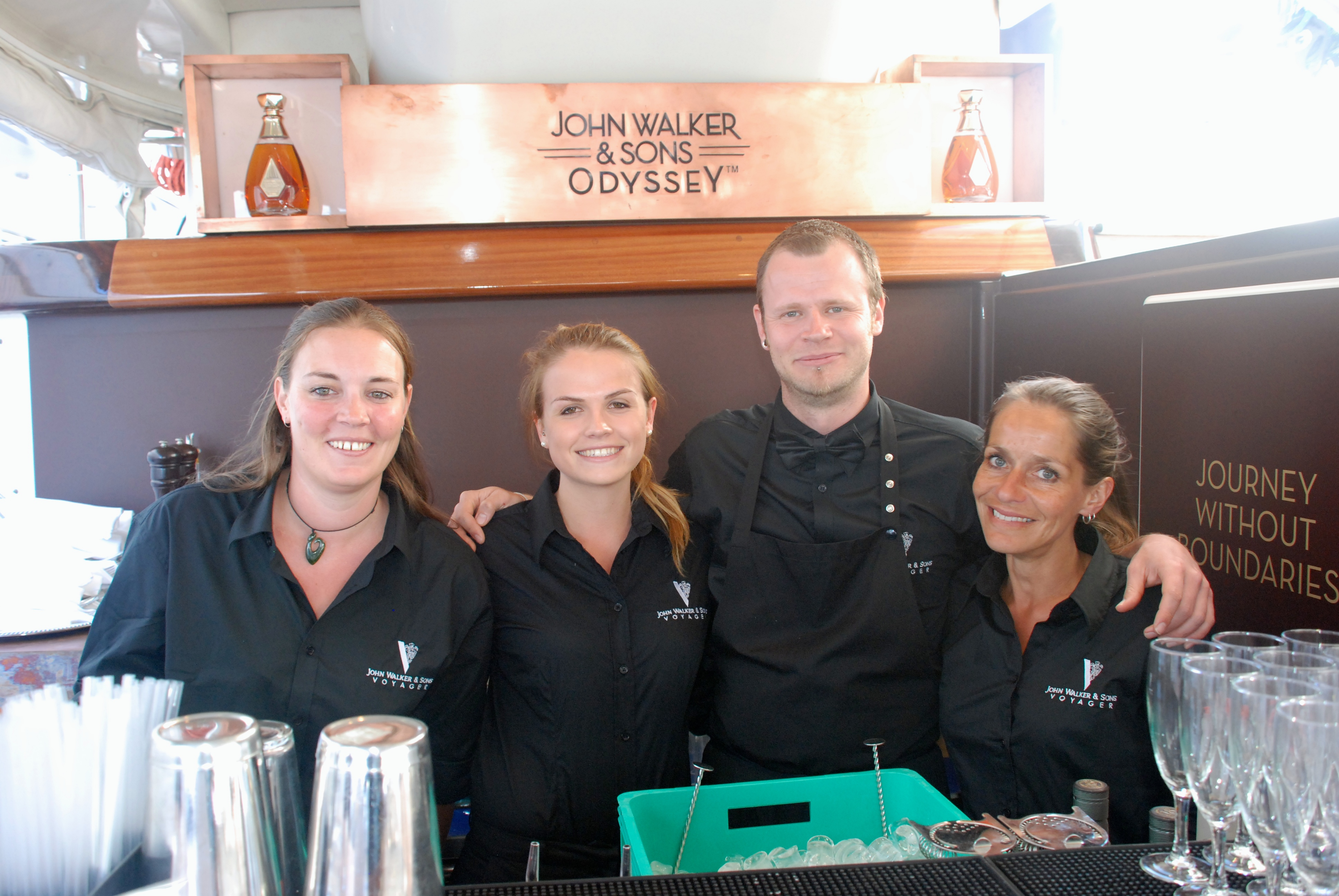 Bartenders and Hostesses in canne