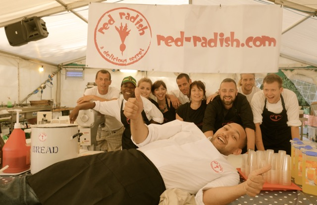 Red Radish are the Fastest Growing Tour Catering Company in the UK