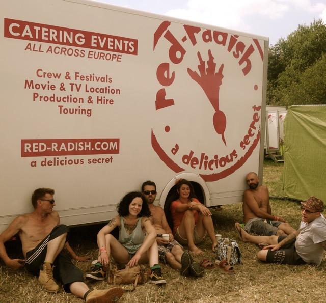 Glastonbury Crew Catering