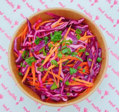 Classic Red Coleslaw