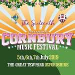 Cornbury music festival logo